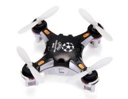 Micro Drone 4CH 6Axis Gyro Pocket Quadcopter Switchable Controller Modo CF One Key para retornar 3D Roll MAV RTF (Preto)