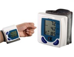 Monitor de pressão sanguínea digital de pulso digital HotItem Compact (branco)
