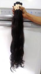 Cabelo Humano  Indiano Ondulado preto castanho 65 Cent 100 gramas