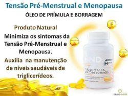 ÓLEO DE PRÍMULA & ÓLEO DE BORRAGEM – RICO EM ÔMEGA 3 HND Hinode 60 Capsulas