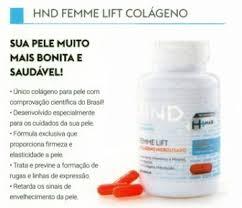 COLÁGENO HIDROLISADO VERISOL  FEMME LIFT - HND Hinode 120 Capsulas