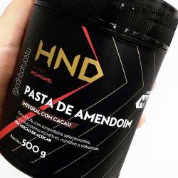 PASTA DE AMENDOIM INTEGRAL  E AMENDOIM INTEGRAL COM CACAU 500G - HND Hinode