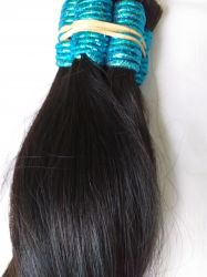 Cabelo Humano  Indiano liso preto castanho 75 Cent 100 gramas