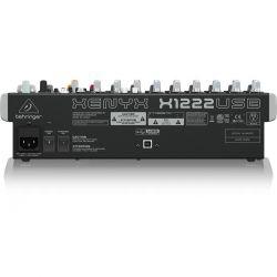Mesa de som X1222 USB  Behringer Xenyx 1222 + Frete Gratis