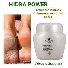 Hidra Power Creme para Pés,  55g