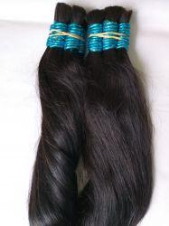 Cabelo Humano  Indiano liso preto castanho 55 Cent 100 gramas