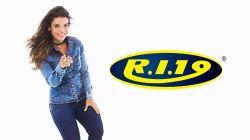 Short  Jeans Ri19  Cintura Alta