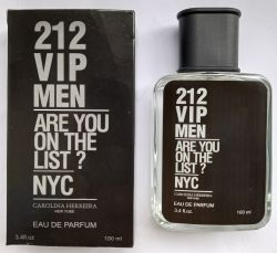 Perfume 212 Vip Men Traduções de Grife 100 ml