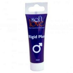 Rigid Plus Bisnaga 15ml - Excitante Masculino