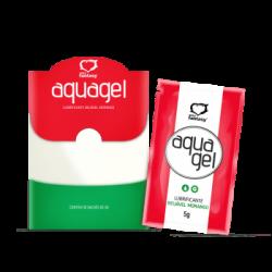 Aqua Gel Lubrificante Beijável 60g Morango